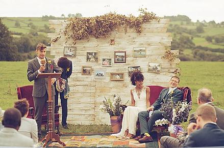 get married in a field