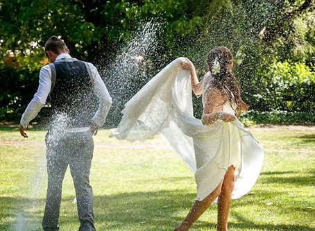 Heatwave Wedding? Real life tips and advice for keeping cool.