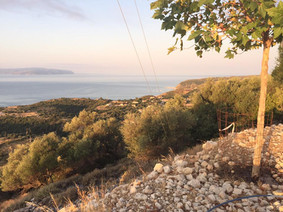 Old Skala countryside view