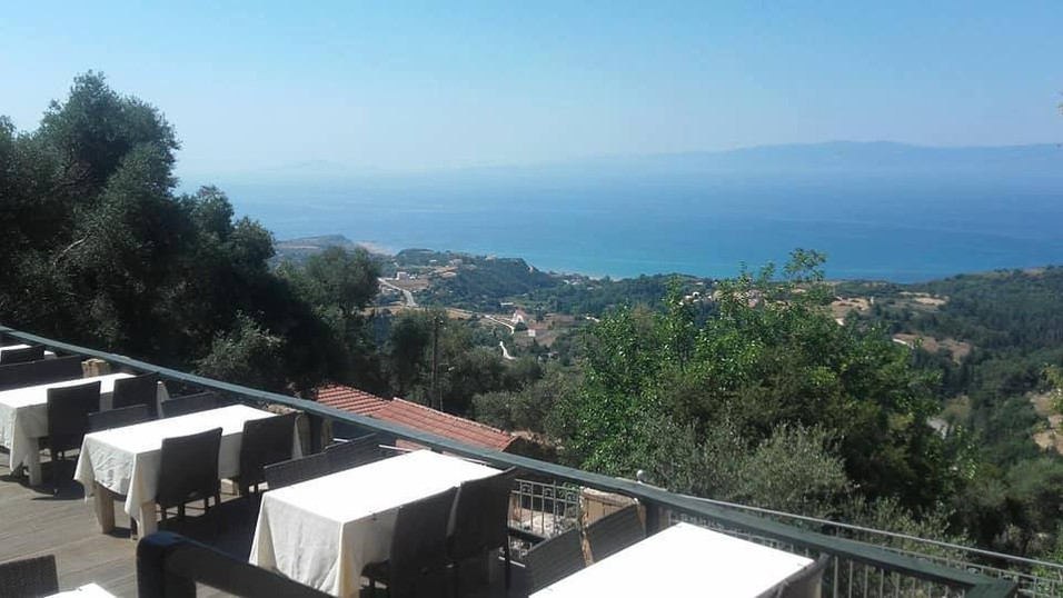 View from the Taverna
