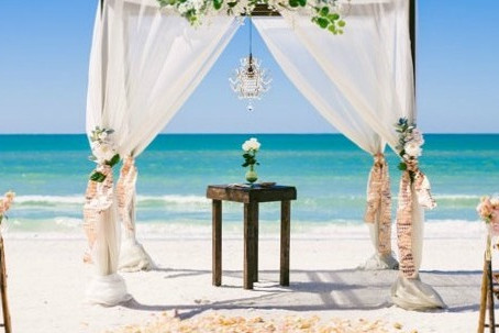 Greece in the top 5 Beach Weddings Destinations