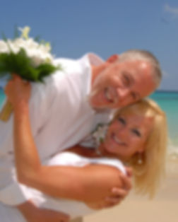 Renewal of Vows on the beach