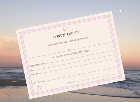 Looking for ideas for writing your own vows? Check out advice from Bride Buddy's Expert.