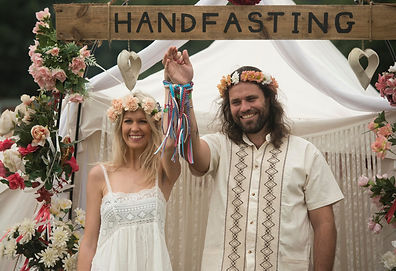 A Hand Fasting Ceremony