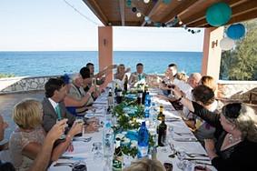 wedding breakfast Old Skala