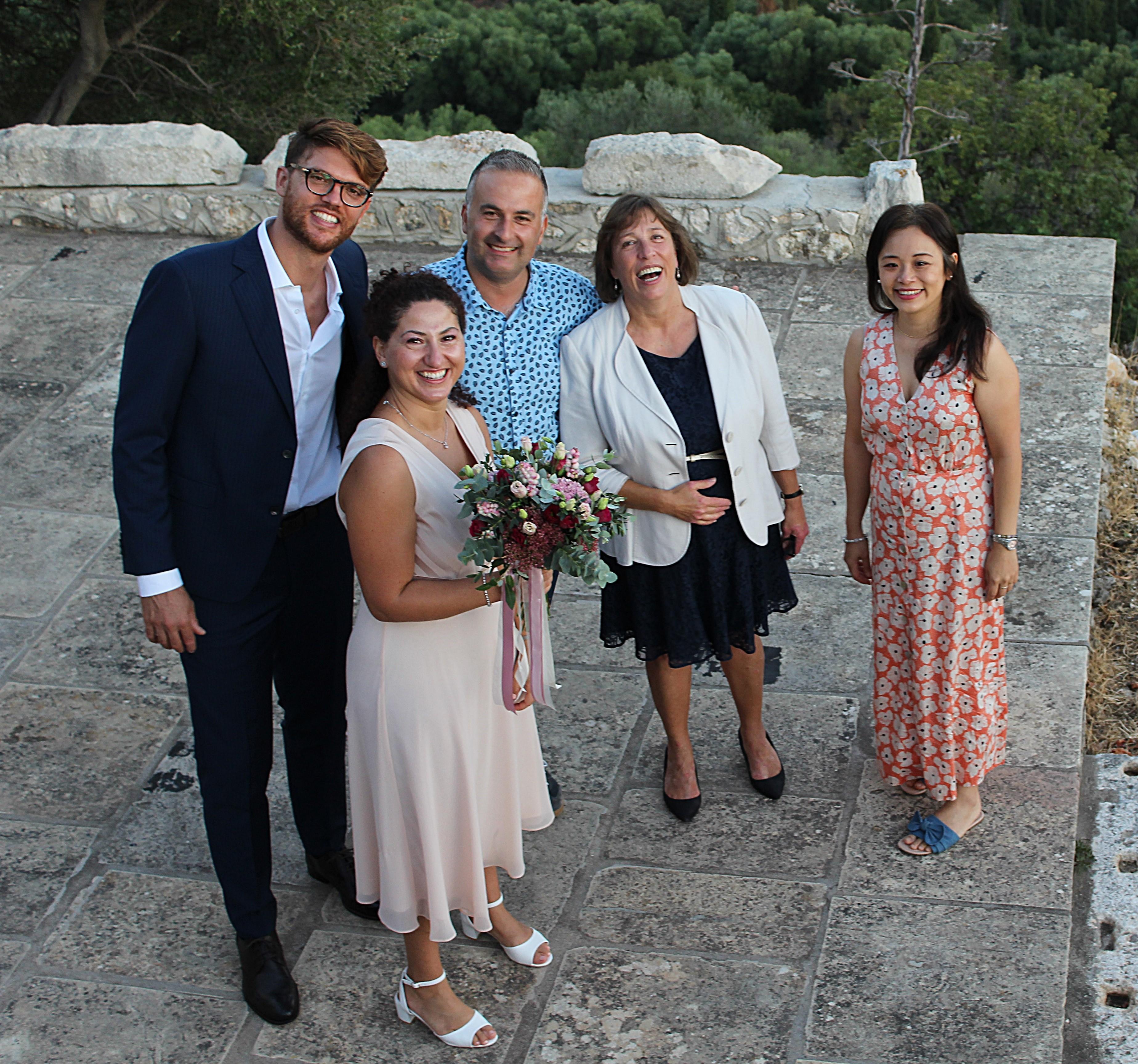 elopement wedding in Kefalonia
