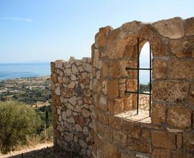 ancient wedding chapel ruins