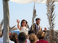 Holly & Rich getting married in Lixouri