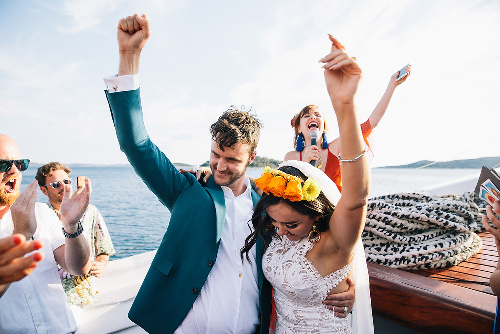 Natalie & Tom's wedding in Croatia