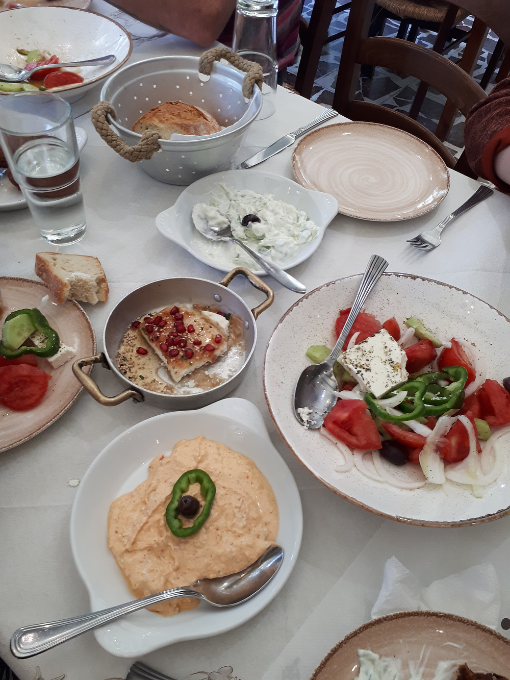 Greek food is the best food