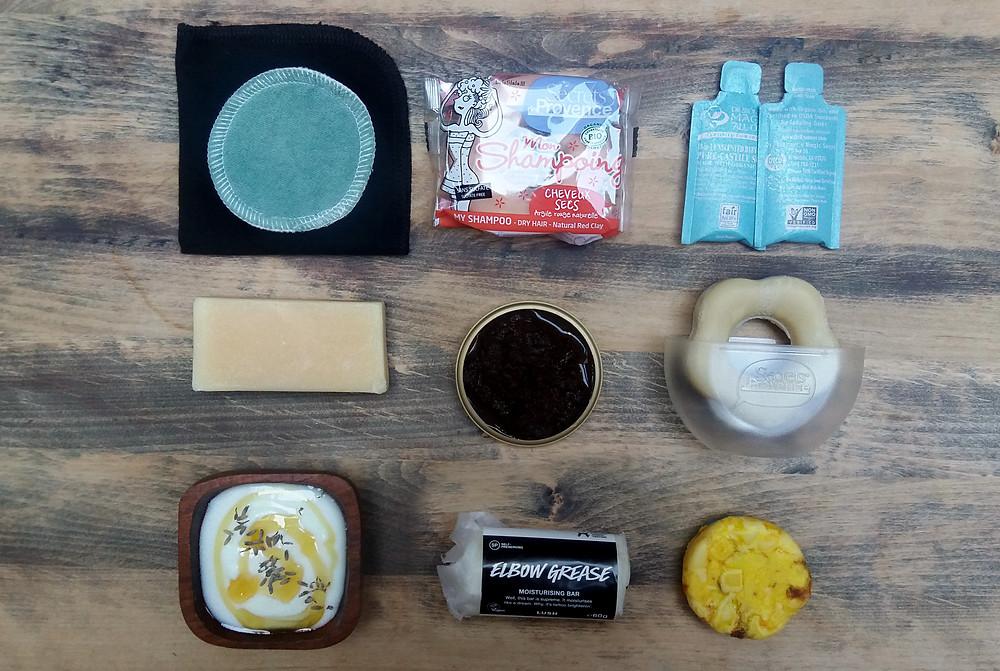 Overzicht ecologische beautyproducten die ik gebruik