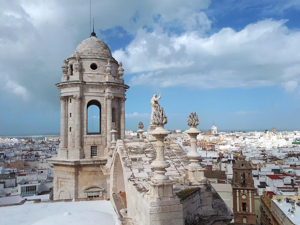Uitzicht in Cadíz