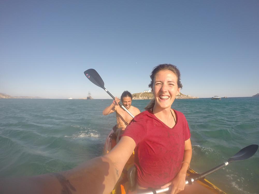 Kayak to Kastri