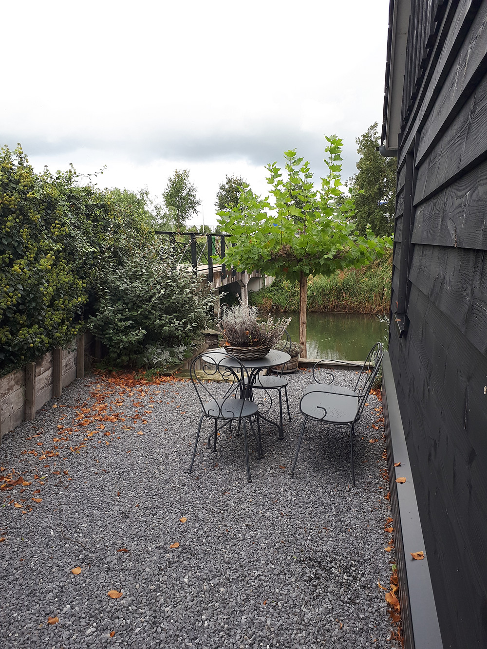 Onze Airbnb aan het water in Cothen