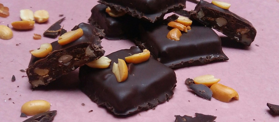 'Healthy' Snickers bites