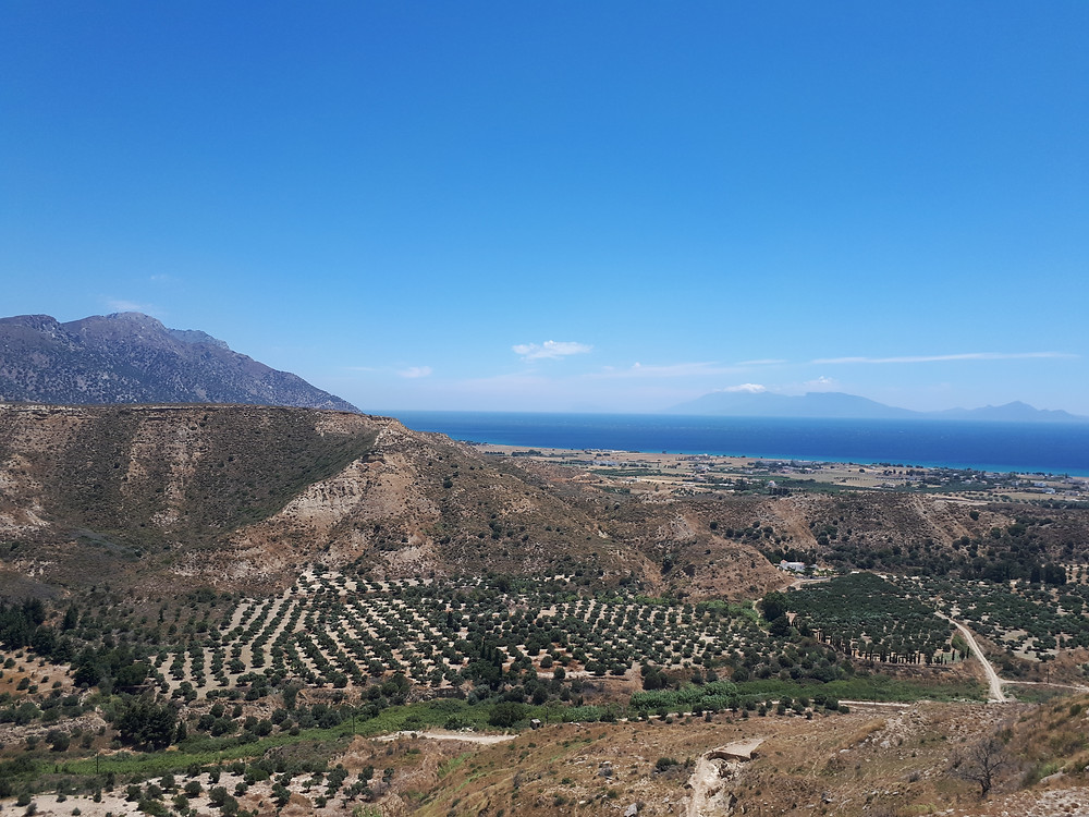 Views from Antimachia fortress