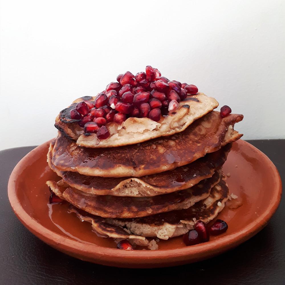 vegan American pancakes