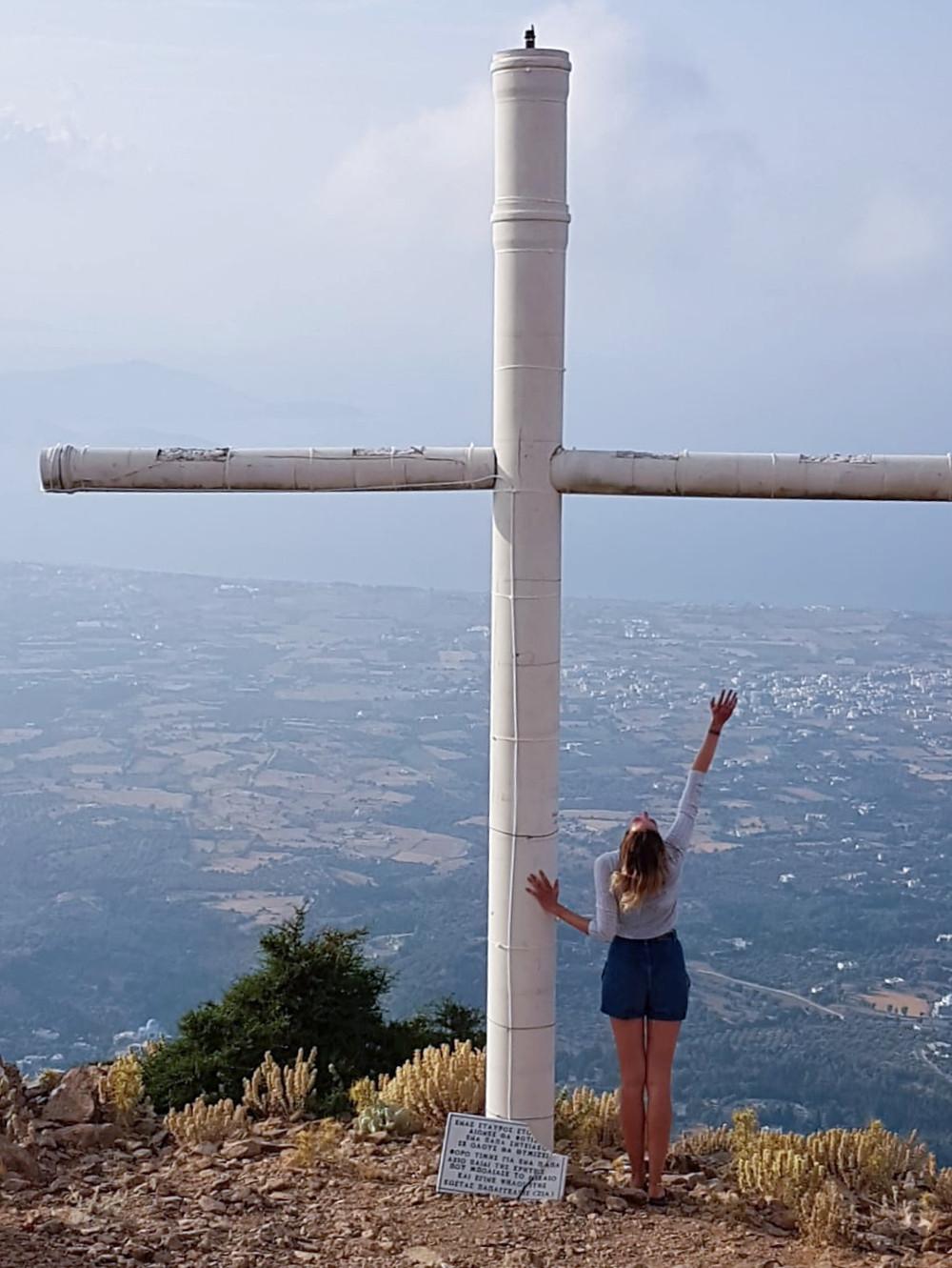 Dikeos mountain cross