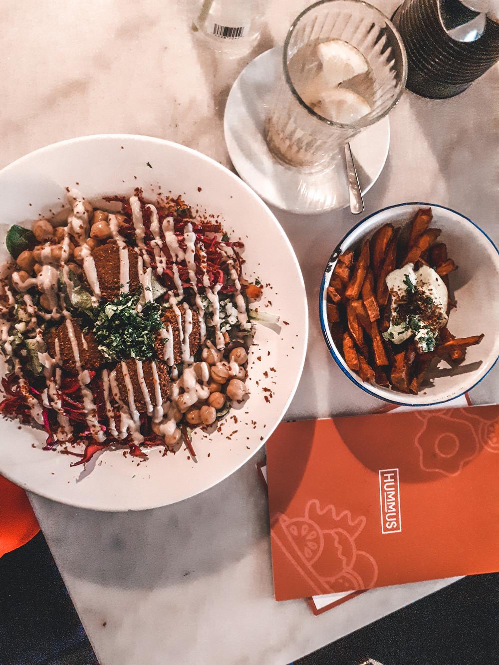 Vegan heaven at Hummus in Den Haag