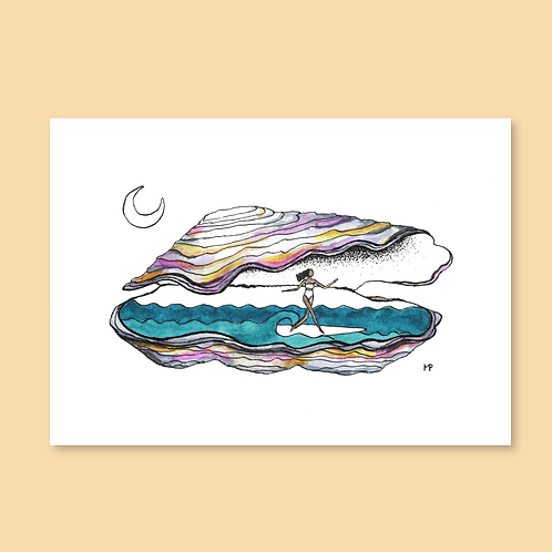 Surf shell