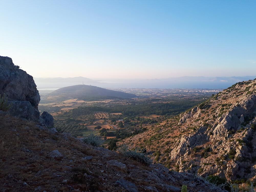 Hiking in Kos, Greece