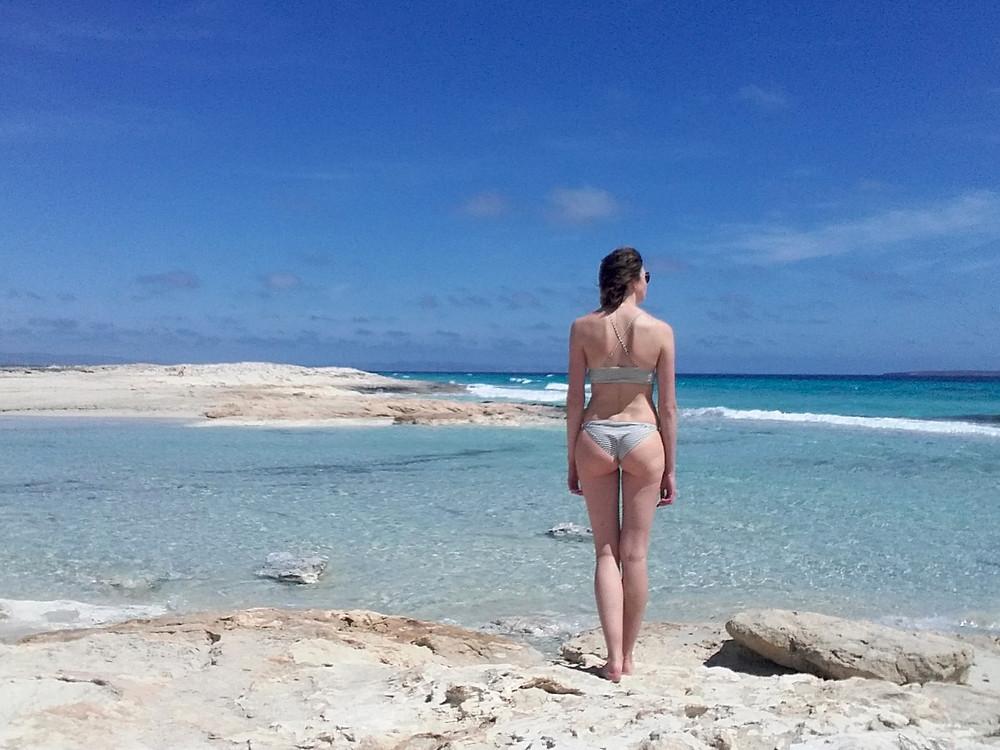 Platja de Illetes aka het mooiste strand ooit.