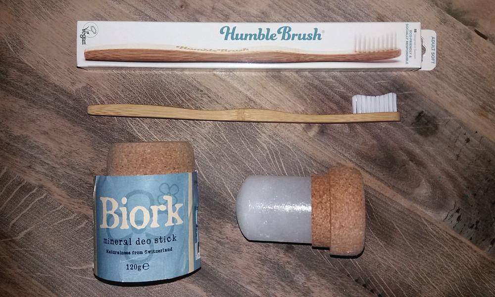 Eco deo en tandenborstel
