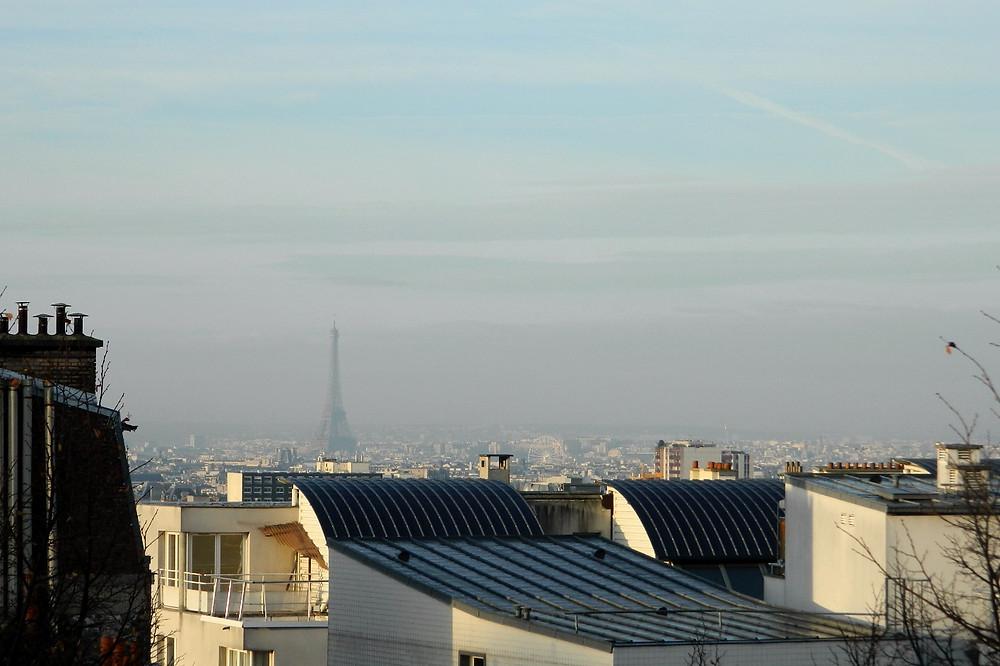 Uitzicht op Parijs en de Eiffeltoren (2015)