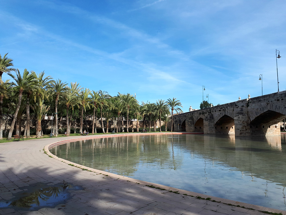 Stadspark van Valencia