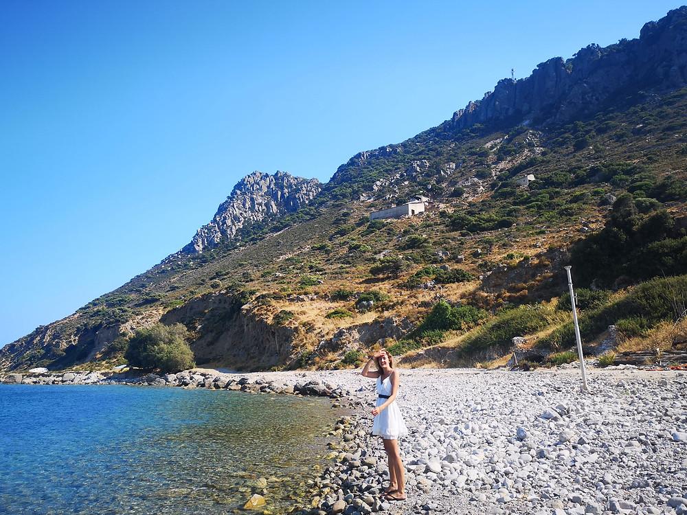 Kamari beach, Kefalos