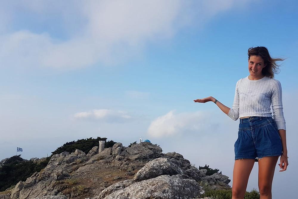 Dikeos mountain in Kos