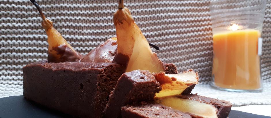 Pinterest vs. reality: chocolade perencake (vegan)