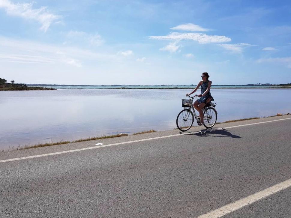 Met de fiets door Formentera.