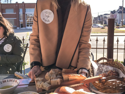 Scrumptious Saturday food Tour at Main St. Meats, Niedlov's, Slick's Burgers, Debarge Winery