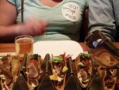 Fresh Tuna Tacos on Tour - so yum!