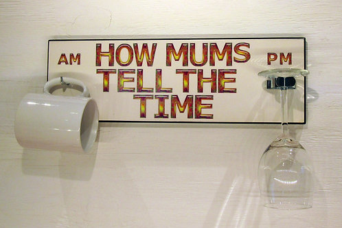 How Mum's Tell The Time - Psychadelic Design