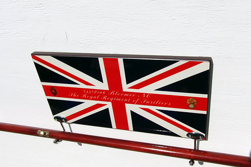 Pace Stick Holder Union Jack Design Personalised