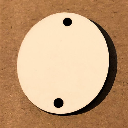 Discs Oval Shape - Printed Single Sided