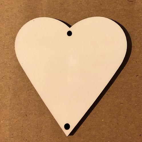 Discs Heart Shape - BLANK
