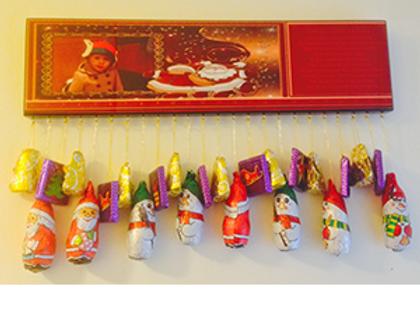 Advent Calendar with 24 Hooks