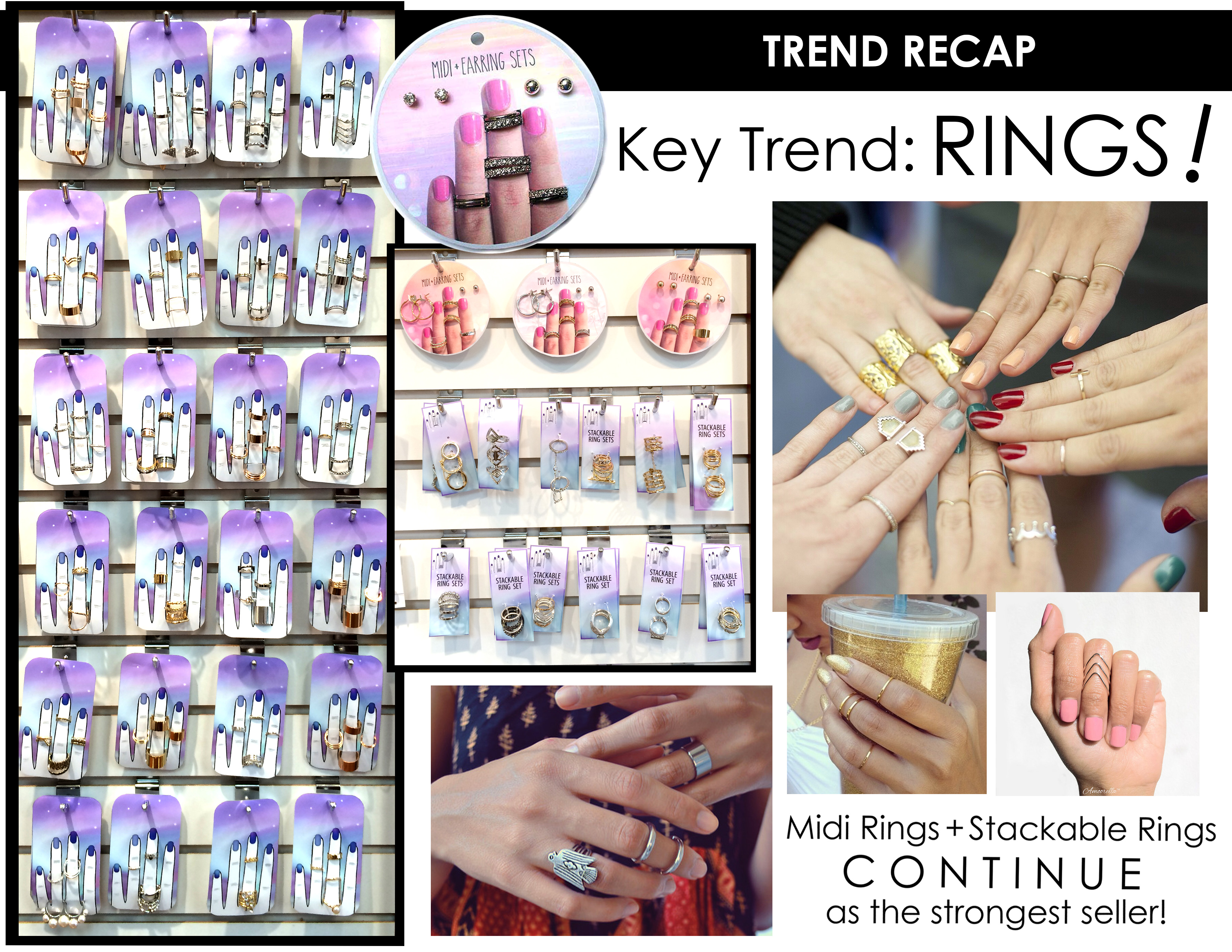 Showroom Trend Recap for Rings