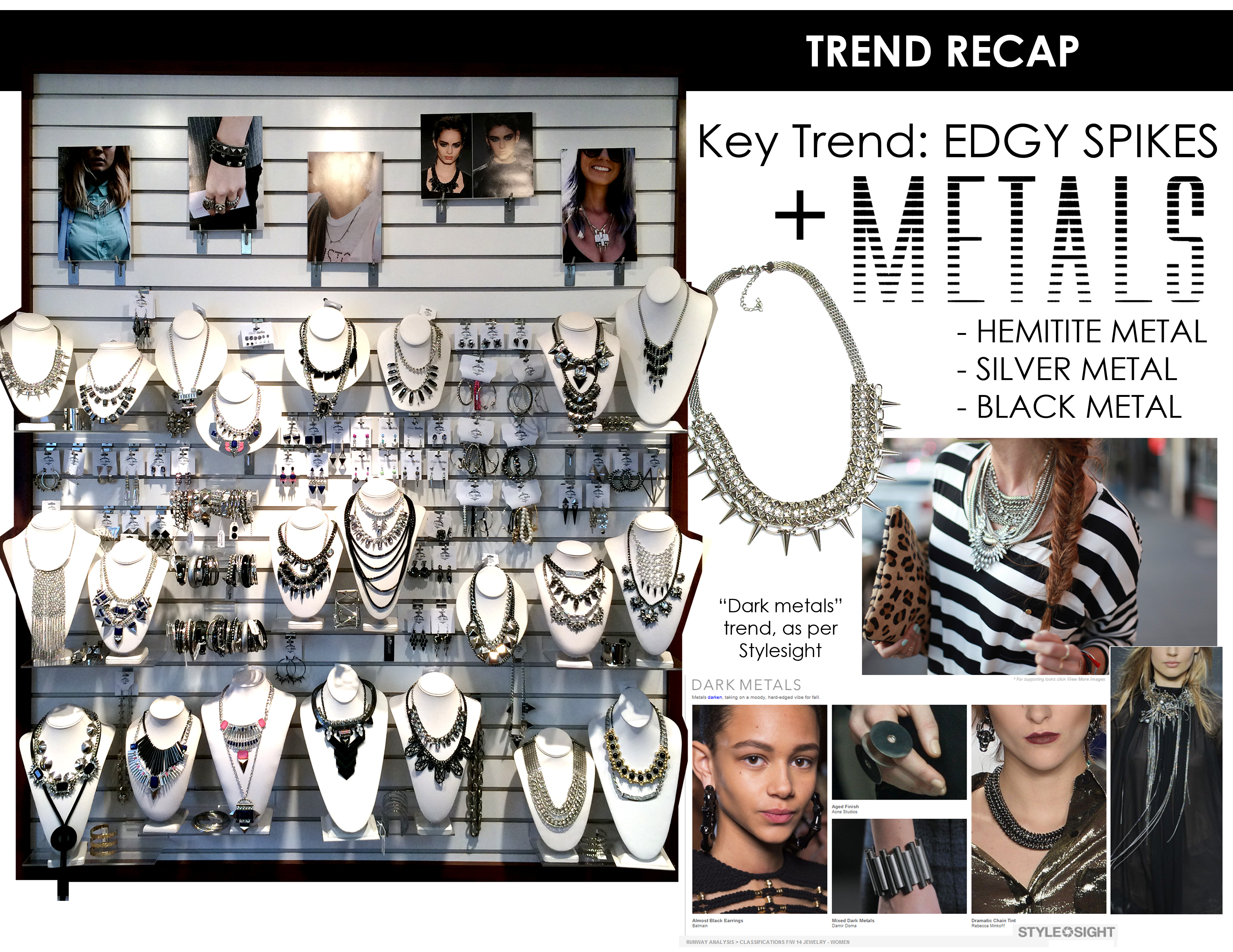 Showroom Trend Recap for Metals