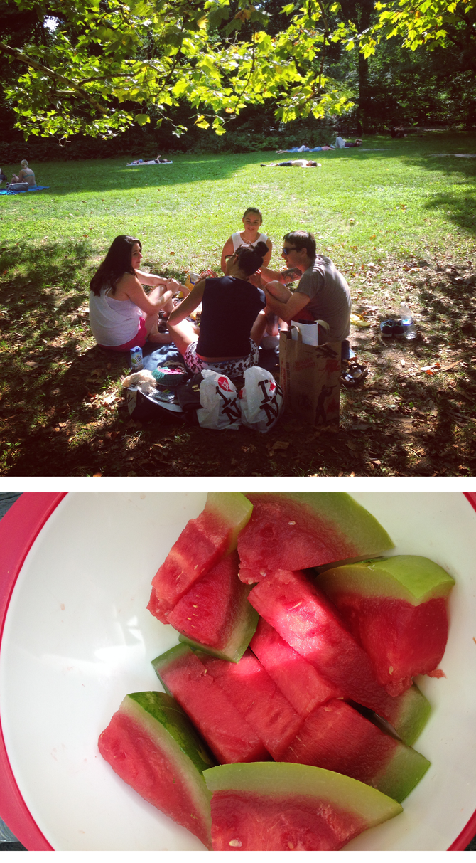 Grass Stains + Watermelon Seeds