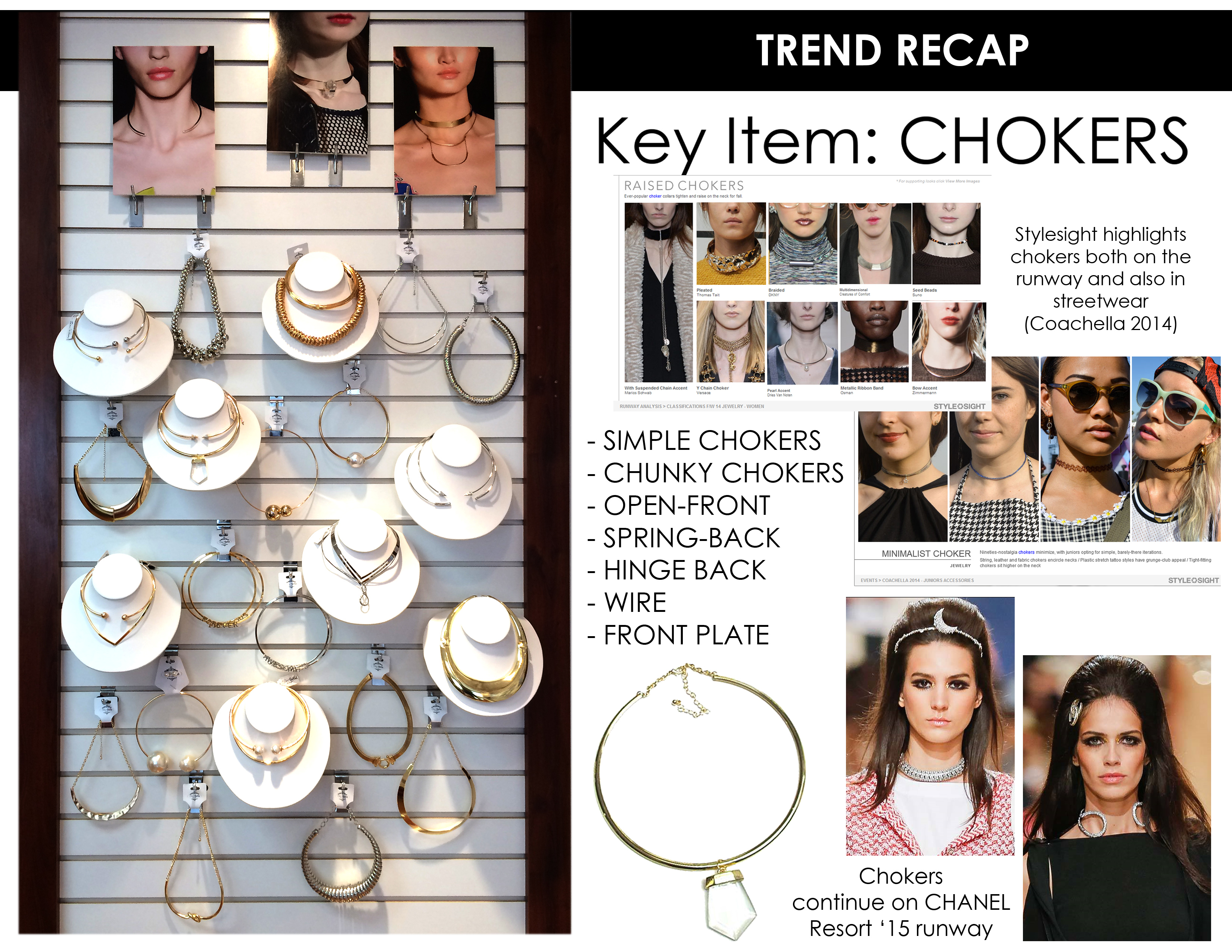Showroom Trend Recap for Chokers