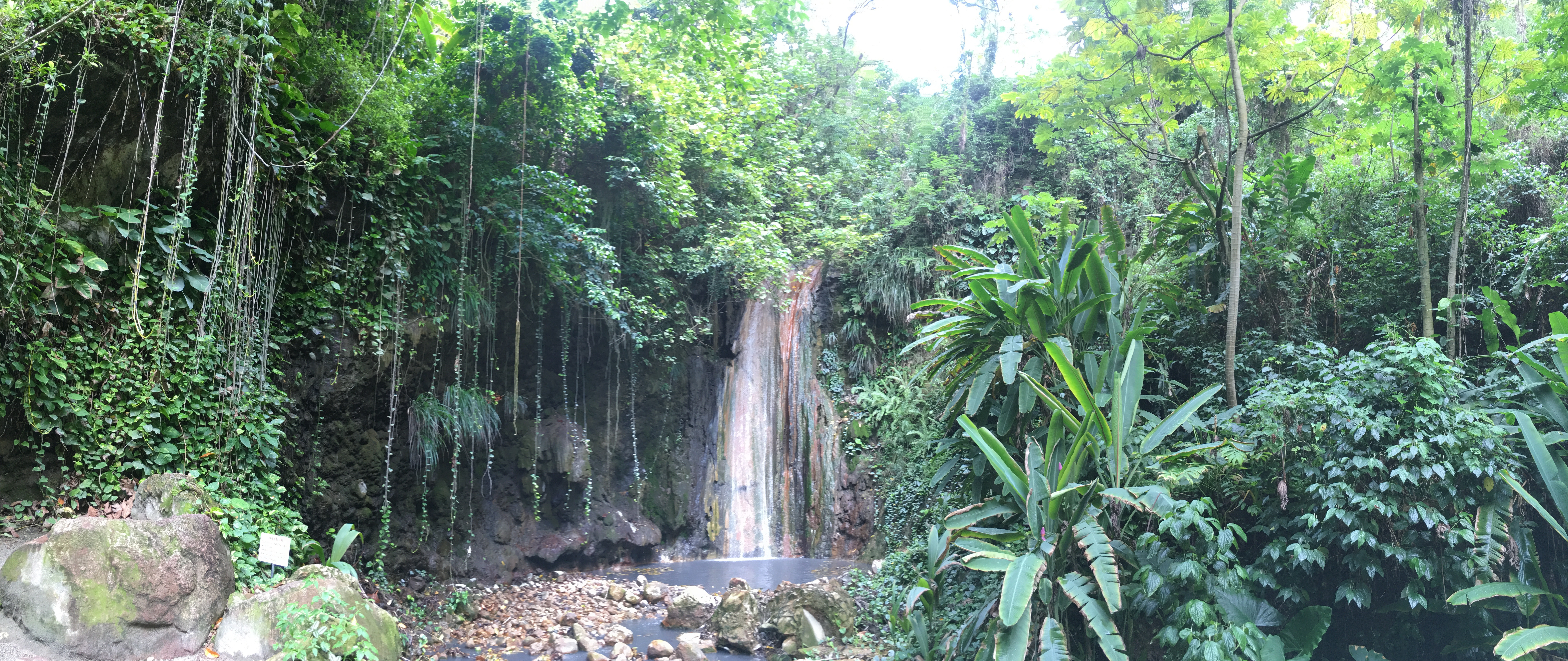 Mineral Waterfall, St. Lucia