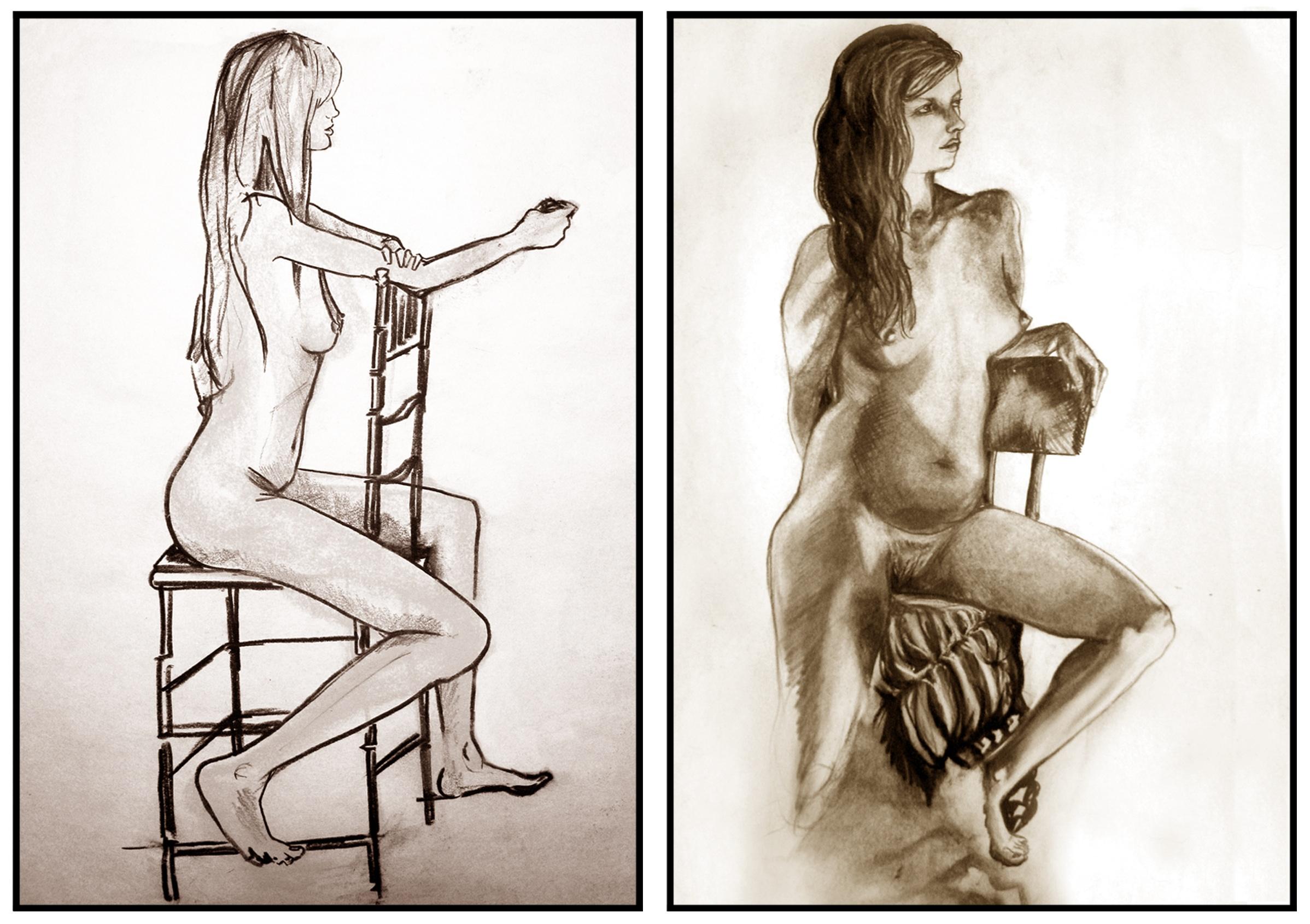 Fashion vs. Life Illustration
