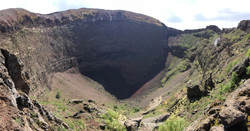 Mouth of Mount Vesuvius