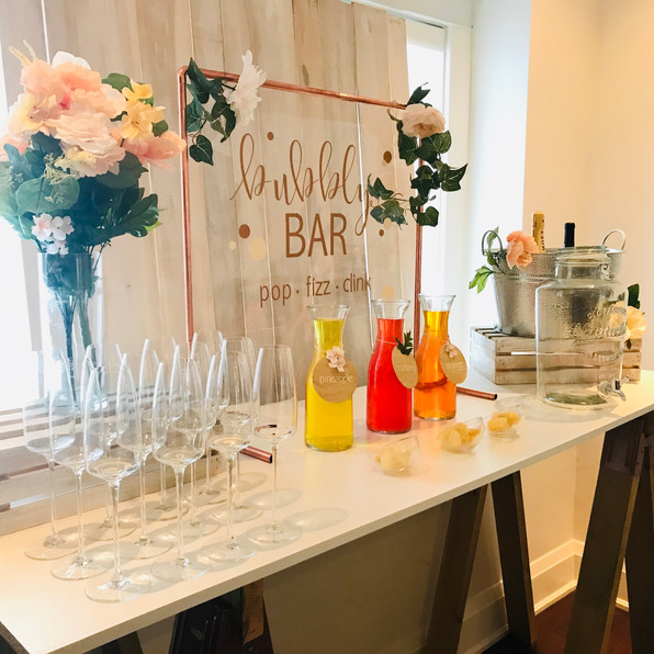 isn't that sweet mimosa bar rental