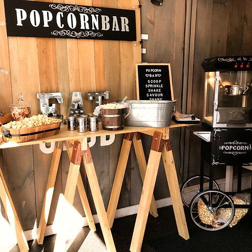 popcorn & candy bar
