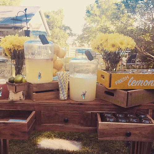 'secret garden' lemonade stand